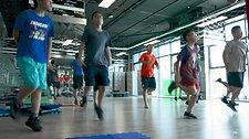 Tập Kickboxing ở Gym