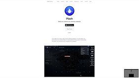 PLASH - A website as desktop wallpaper