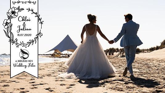 WEDDING FILM - CHLOÉ + JULIEN - par MELBAS 801