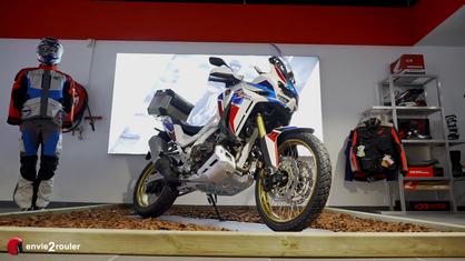 Mise en main Honda Africa Twin 1100 DCT 2020