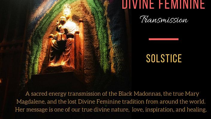 Divine Feminine Solstice event