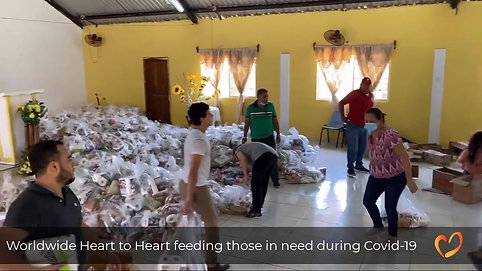 Covid-19 Feed the needy in action