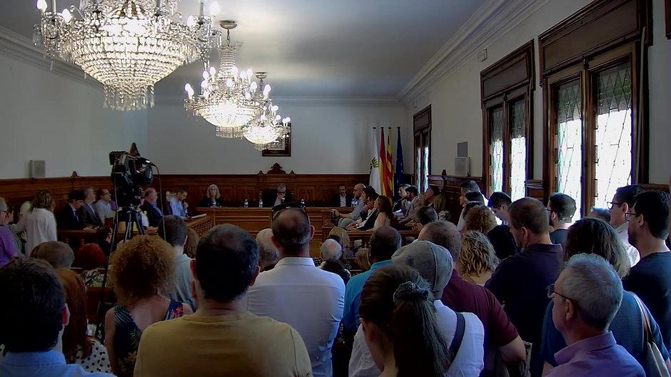 Intervenció Claudio Carmona - En Comú Movem Cornellà - Ple Constitució 15 juny 2019