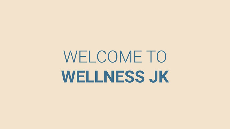 Welcome to Wellness JK