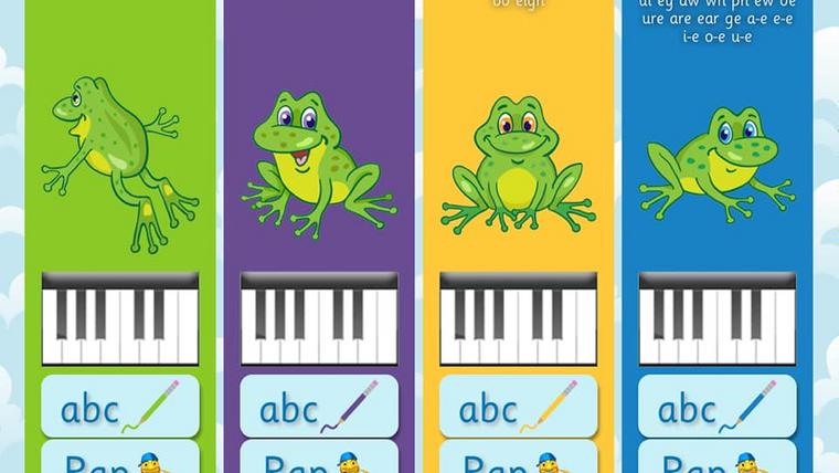 Spelling Piano app