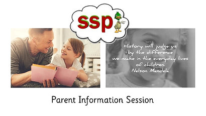 SSP Parent Info Session (please download)