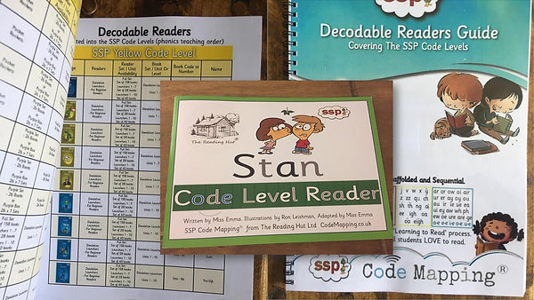 SSP Code Level (Decodable) Readers Guide