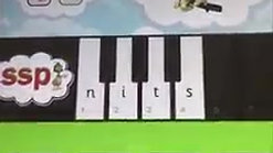 SSP Spelling Piano  - GCL