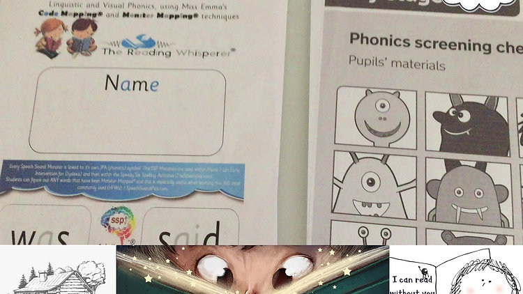 Passing the UK Phonics Test and PM Benchmarking