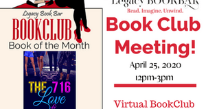 Legacy BookBar April Virtual Book Club