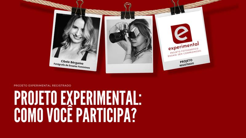 Como participar do Experimental: ensaio sem compromisso