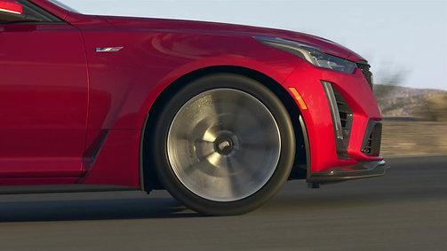 Cadillac's 2022 CT5-V Blackwing Animation