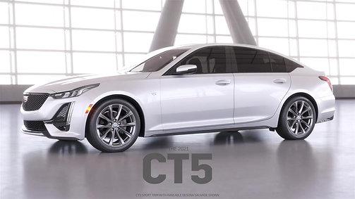 Cadillac's 2021 CT5 Animation