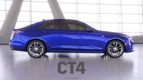 Cadillac's 2021 CT4 Animation