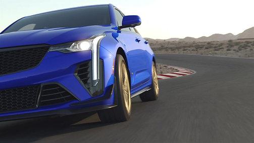 Cadillac's 2022 CT4-V Blackwing Animation