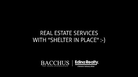 Real Estate Services with Shelter in Place