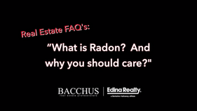 Bacchus FAQs - RADON