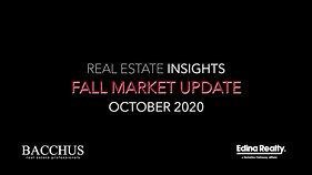 Market Update October 2020