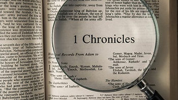 Devotions - August 7, 2020 - 1st Chronicles 26:20-27:34