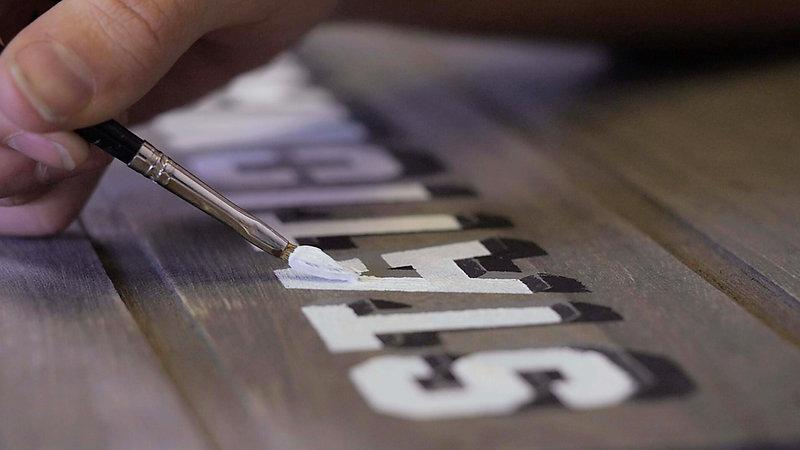 Stencil Lettering Tutorial