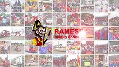 Rameses Hillbilly Shrine Club We parade so kids can walk Logo