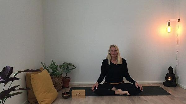 Blid yoga for nakke, lænd og ryg