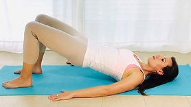 Strengthen and align; core and glutes Postnatal Pilates level 1 series