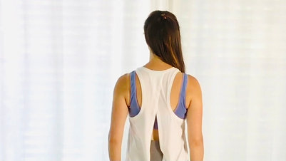 Good for BACK PAIN/POSTNATAL/POSTURE Posture fix & standing warmup