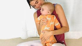 Upper back, neck and shoulder release - posture ease Postnatal Pilates - Level 1 Series