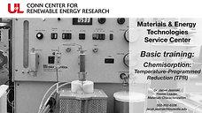 MET Basic Training Chemisorption TPR comp