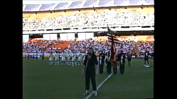 Colorado Rapids at Broncos Stadium National Anthem