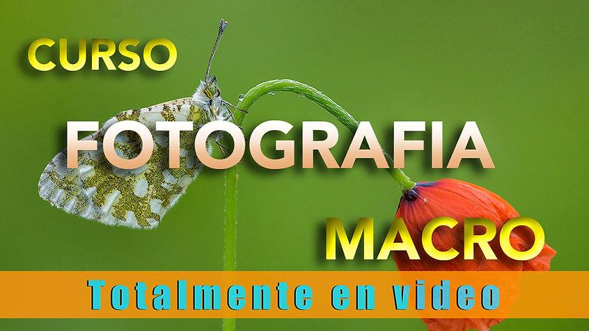 Video Promocional Curso Fotografia Macro