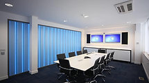 Iomart Office Conference Room Colour Changing Glass Wall