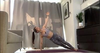 Side Plank Flow
