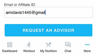 Adding me as an Advisor