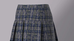 Box Pleats Skirt