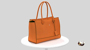 Top zip Tote Bag
