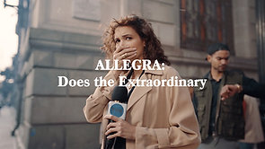 Allegra: Does the Extraordinary
