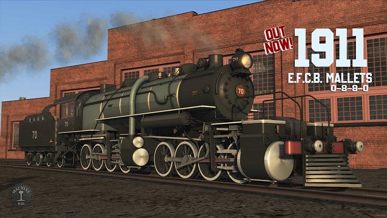 MR 1911 ALCO Mallet 0-8-8-0 EFCB Pack - PROMO
