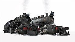 NEW RELEASE PROMO: ALCO 1907 MALLET 0-6-6-0 EFCB no.51 & no.52 + Freight Set