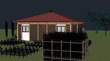 vidéo maison poteau poutre