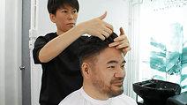 Medical Wig 醫療假髮- Men's hair loss 10% grey hair 男士脱髮專用真髮髮片-10%白髮