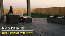 LEAN ON ME FOR ALL YOUR CONCRETE NEEDS