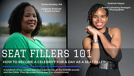 Seat Fillers 101: How to Become a Celebrity for a Day as a Seat Filler