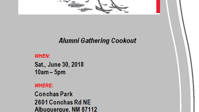 NMSDAA Cook Out June 30, 2018
