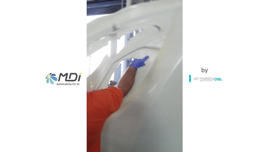 MDI by AirMobility. Réception des moules de l'AirPod 2.0