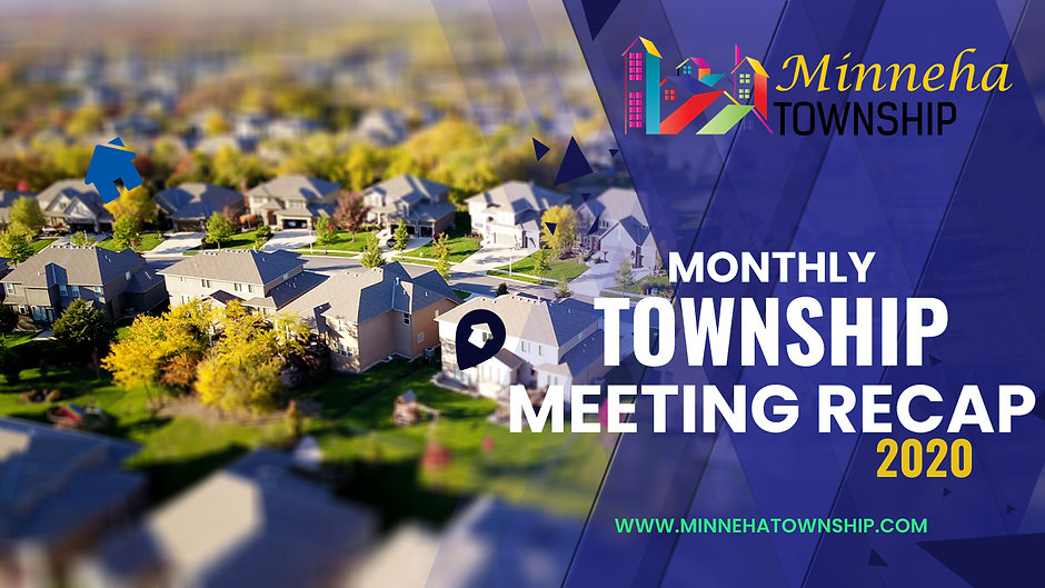 2020 Monthly Township Meetings