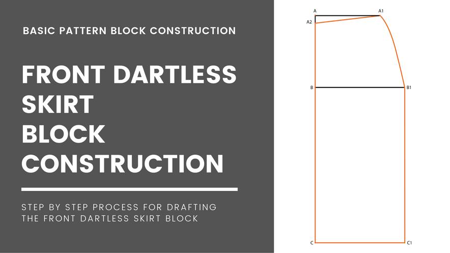 Darted Skirt Block(Front)