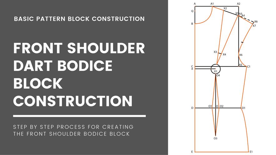 Shoulder Dart Bodice Block(Front)