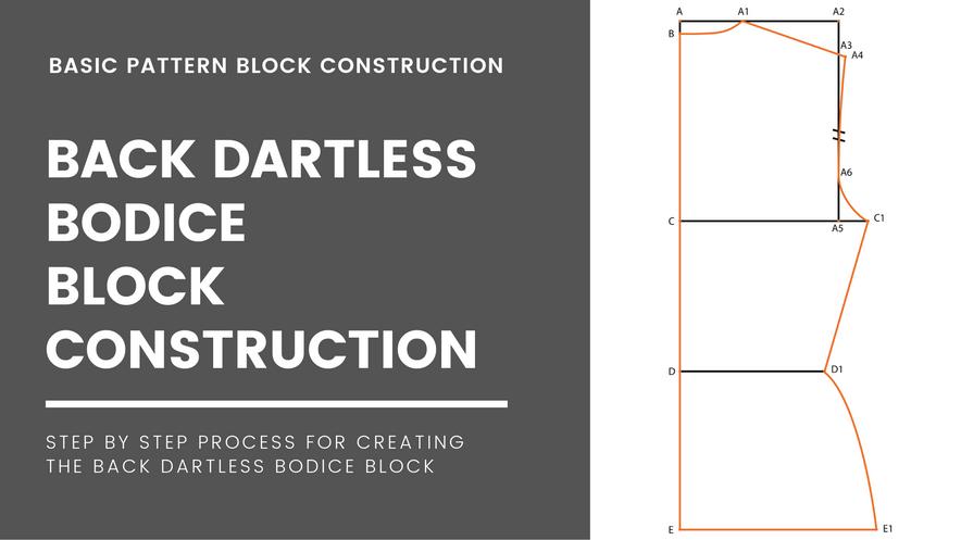 Dartless Bodice Block(Back)